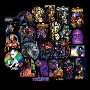 Brand New 50Pcs Marvel Avengers Random Stickers
